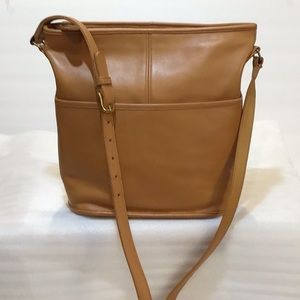 Coach bucket bag, refurbished vintage purse EUC